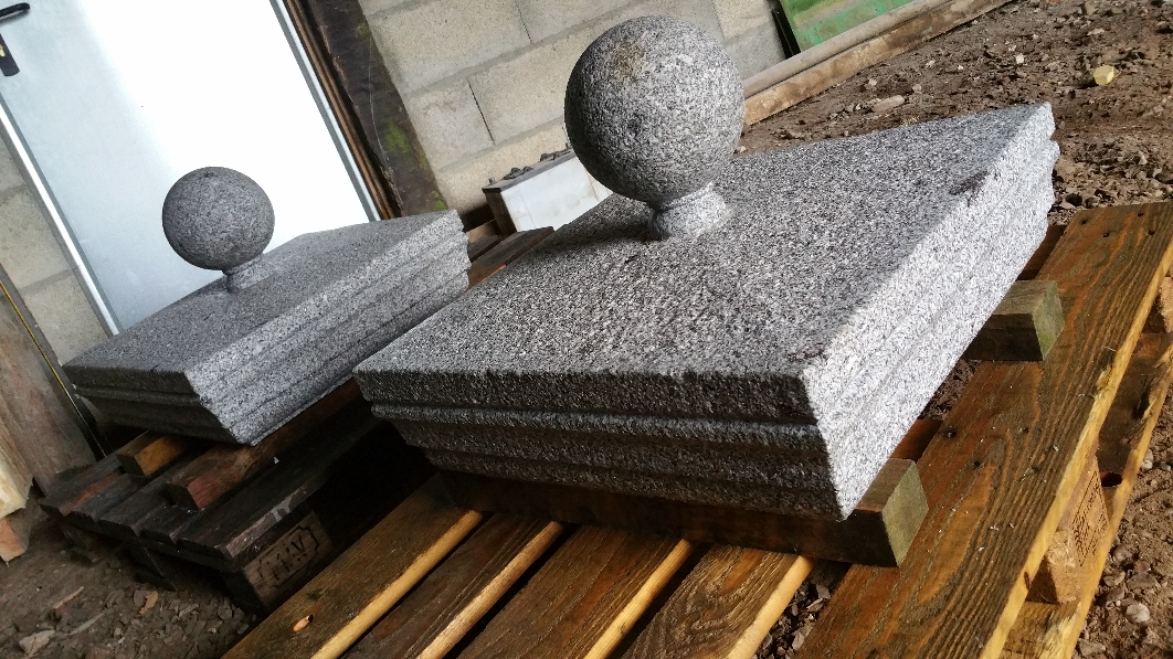 Chapeau boule granit