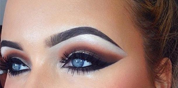 Augenbrauen hässliche augenbrauen verschönern