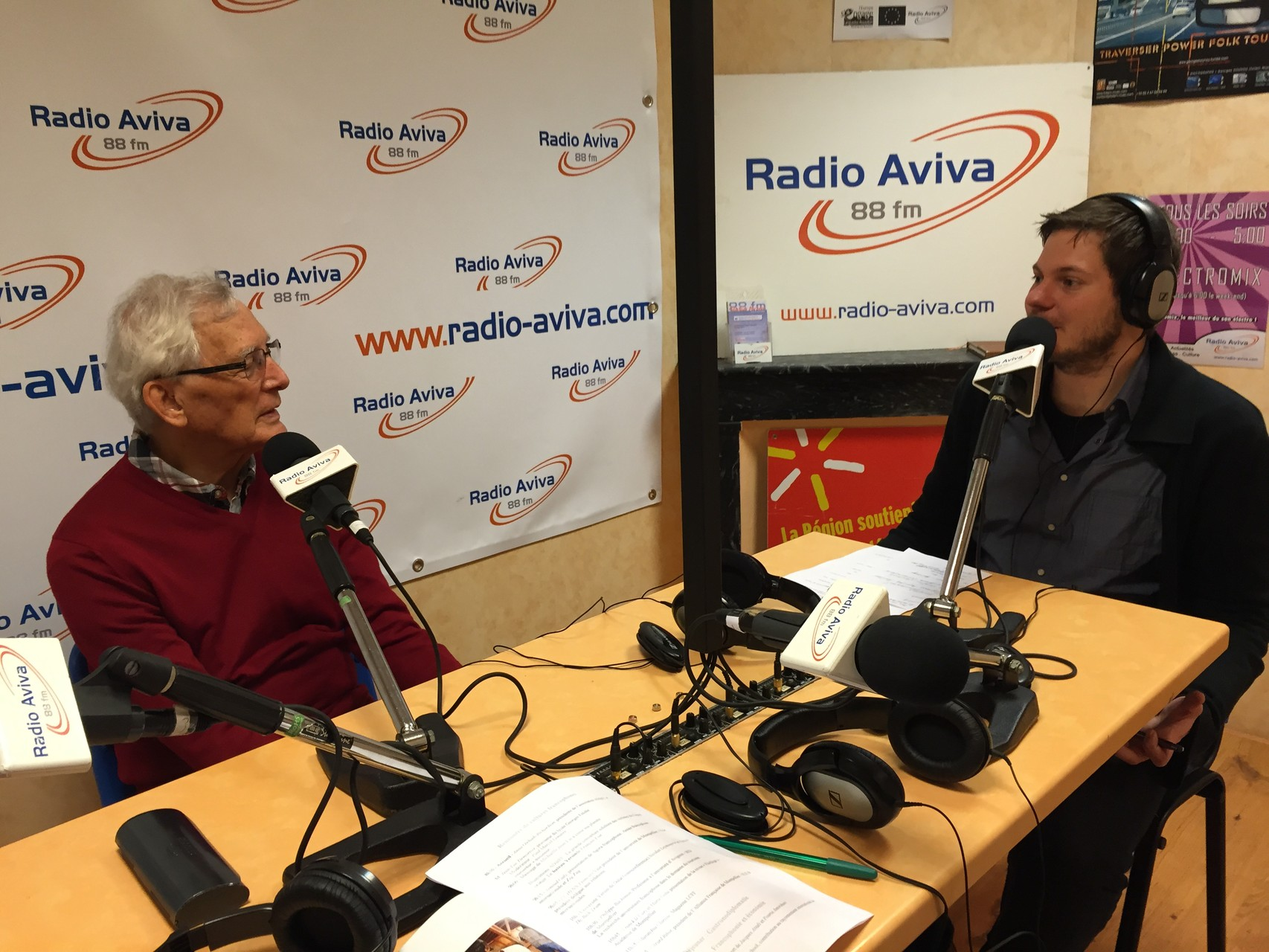 Interview de Paul-Marcel Lemaire à radio Aviva