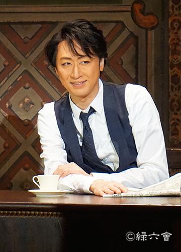 自主公演「怪人二十面相〜黒蜥蜴二の替わり〜」明智小五郎