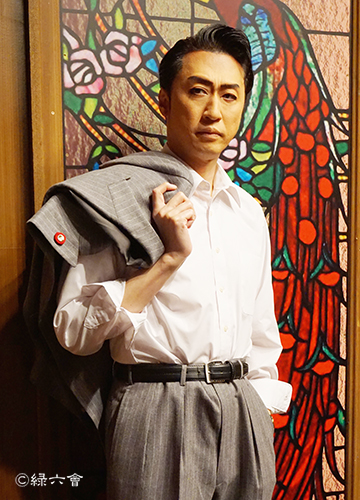 「夜の蝶」白沢一郎