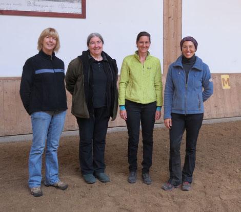 Mary Concannon, Alexandra Kurland, Michaela Hempen und Anja Beran - 2015
