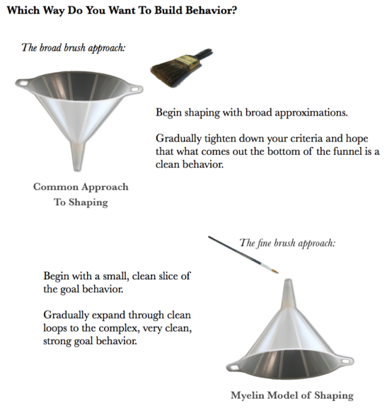 Figure from Alexandra Kurland's blog article 'Metaphors matter'