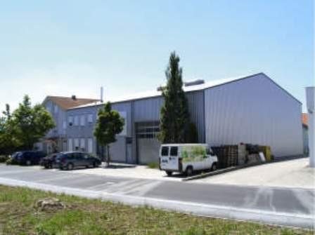 Neue Geschätsräume mit Produktion und Lager vor dem Einzug
