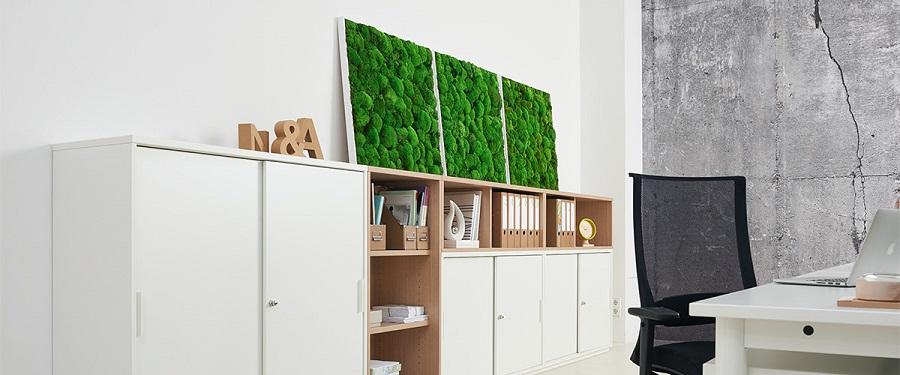 Febrü Fashion green - echtes Moos