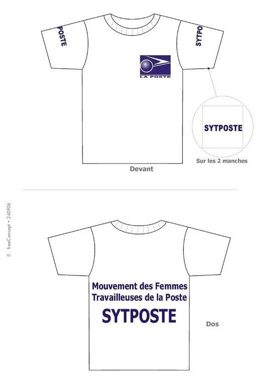 Maquette T-shirt pour sérigraphie
