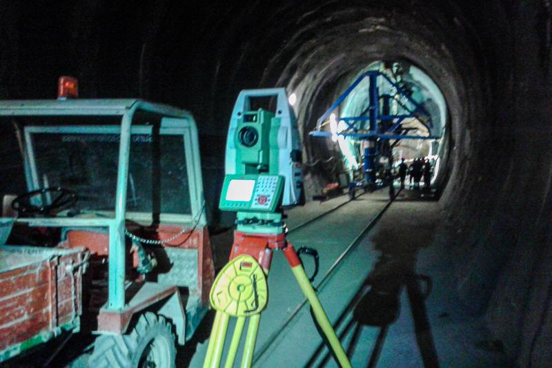 Tunnelvermessung TIWAG Kraftwerk