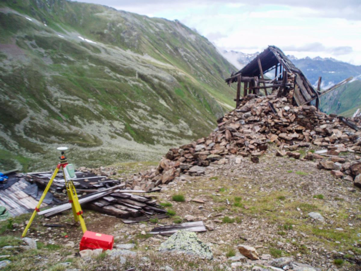 Aufnahmen Bergwerk Platzertal