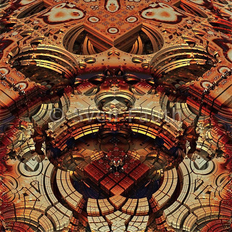 Sven Fauth - Fraktalkunst - Alien Rainbow