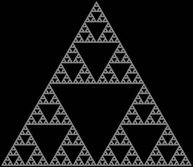 Sven Fauth - Fraktale Kunst - Sierpinski-Dreieck