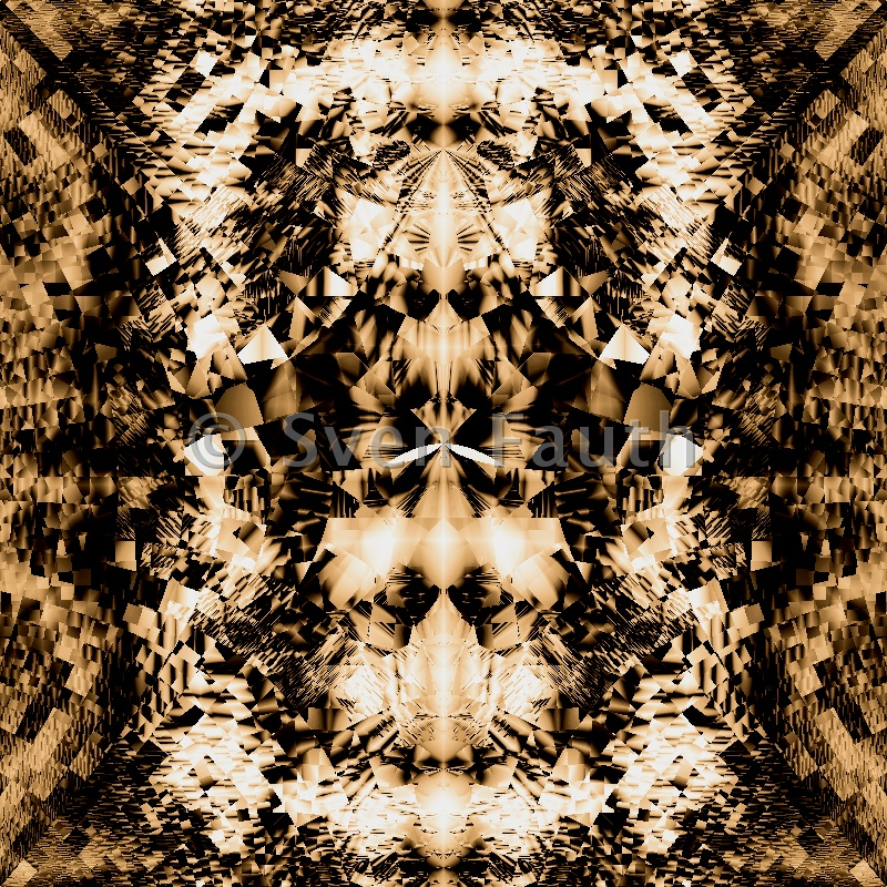 Digitale Abstrakte Kunst - Fraktalkunst von Sven Fauth