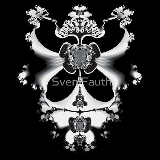 T-Shirt - Fraktale Kunst © Sven Fauth