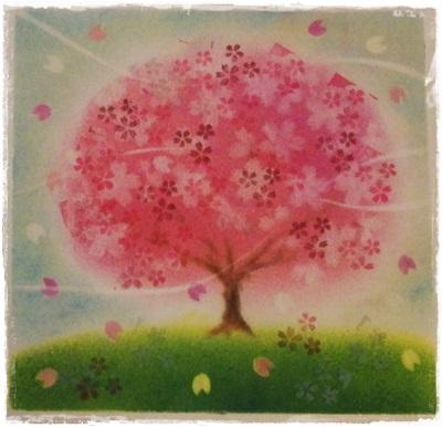 桜の木 ★