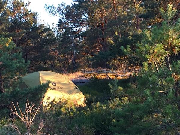 Schweden und so Ausrüstung: Zelt und Schlafen