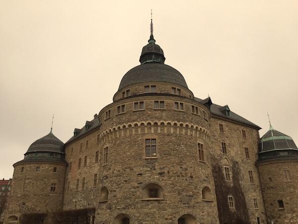 Das Örebro Schloss in Mittelschweden