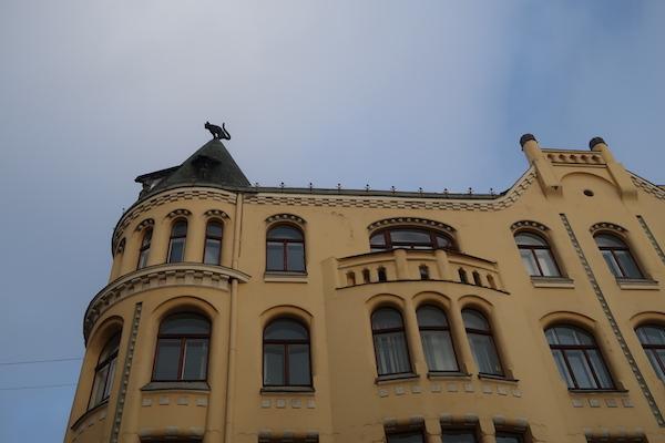 Das Katzenhaus in Riga