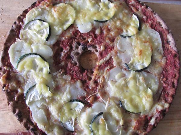 Knäckebrot Pizza, Schweden