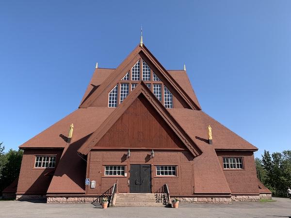 Die Kirche in Kiruna | Foto: Ekaterina Venkina