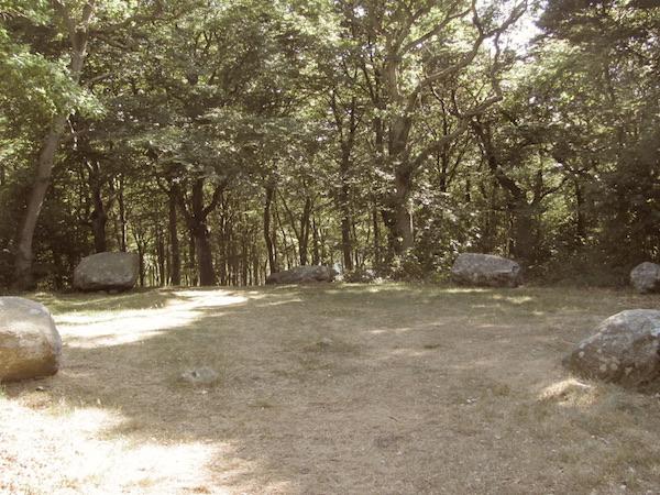 Steinkreis Domarringen, Kullen, Südschweden