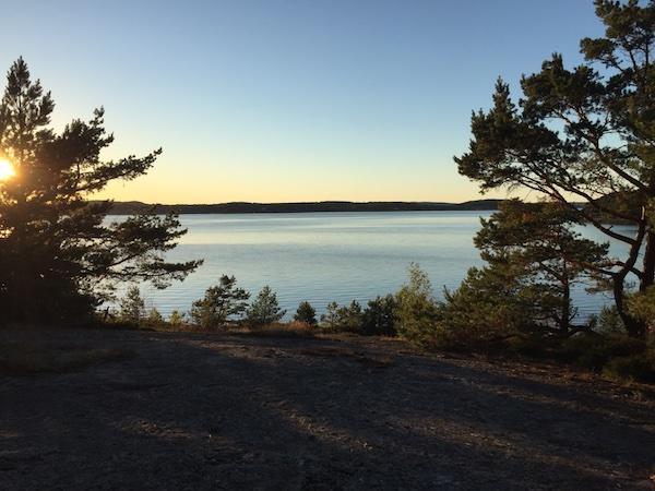 Blick aufs Meer, Westschweden, Stenungsön