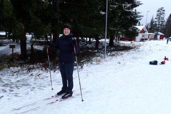 Skifahren bei Örebro