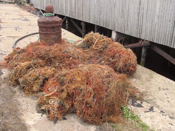 Alte Fischernetze