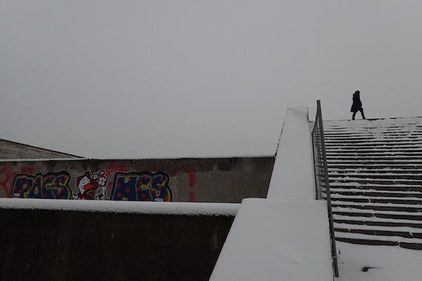 Linnahall Tallinn im Winter