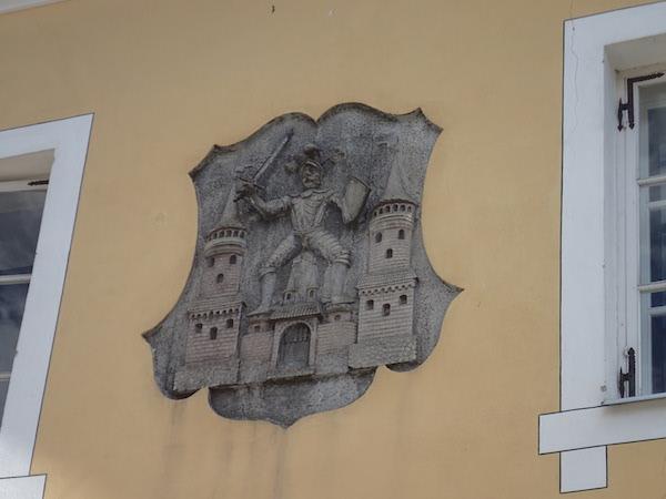 Stadtwappen Cesis, Lettland