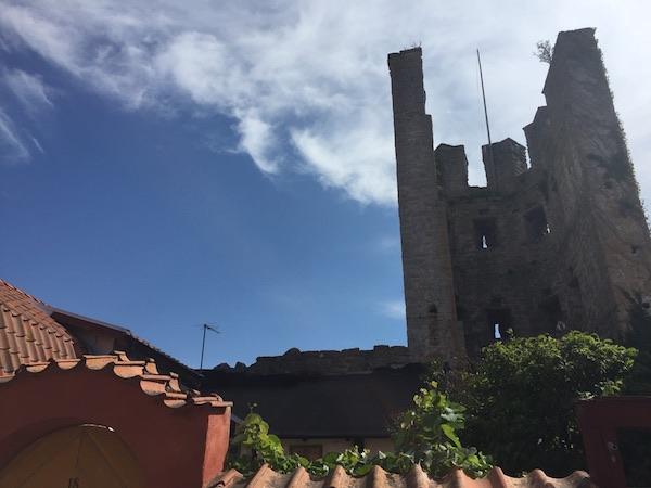Turm entlang der Stadtmauer von Visby