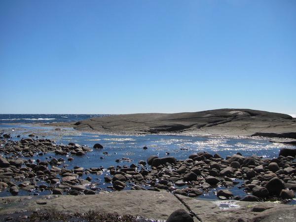 Steinküste Westschweden