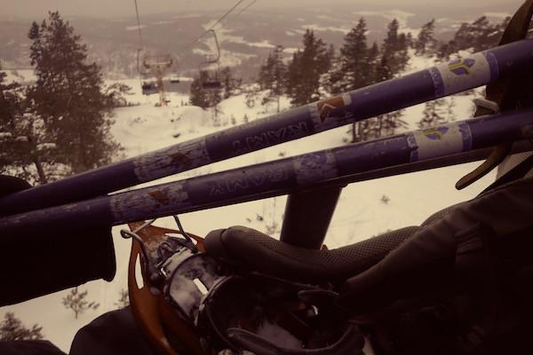 Skilift Skuleberget, High Coast Winter Classic, Schneeschuhwanderung