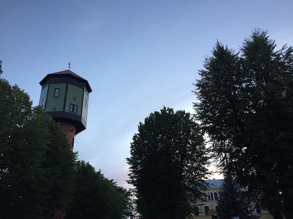 Wasserturm in Viljandi, Estland