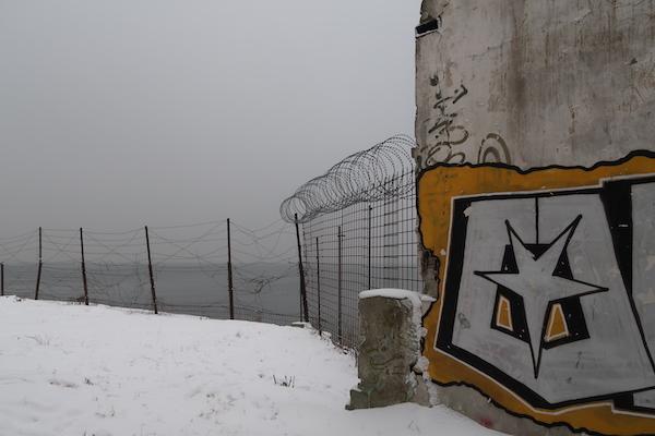 Stacheldraht und Graffiti: Das alte Patarei Gefängnis in Tallinn