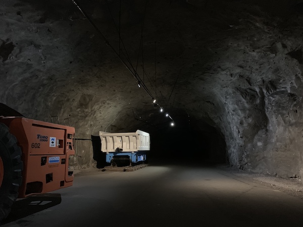Unter der Erde: Die Mine Kiruna | Foto: Ekaterina Venkina