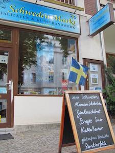 Schweden-Markt Berlin, Außenansicht