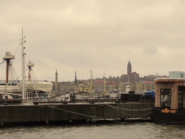 Göteborg vom Wasser aus
