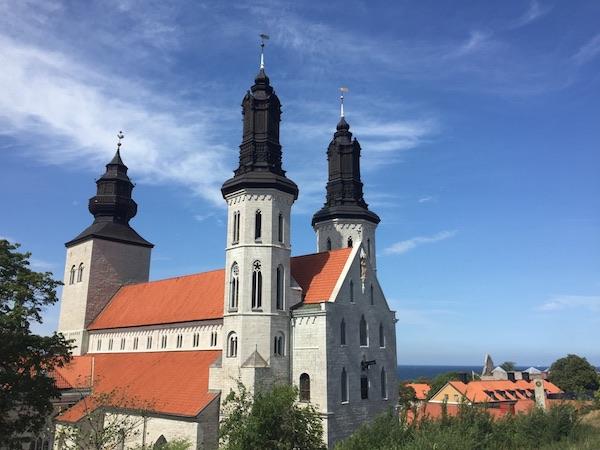 Domkirche Santa Maria in Visby auf Gotland, Schweden (Marienkirche)