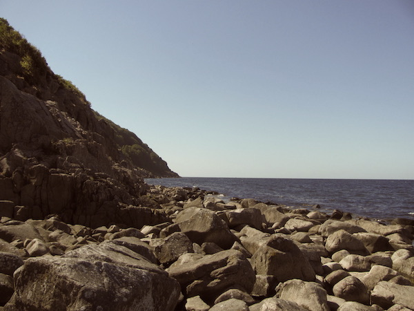 Steilküste und Geröllstrand, Kullaberg