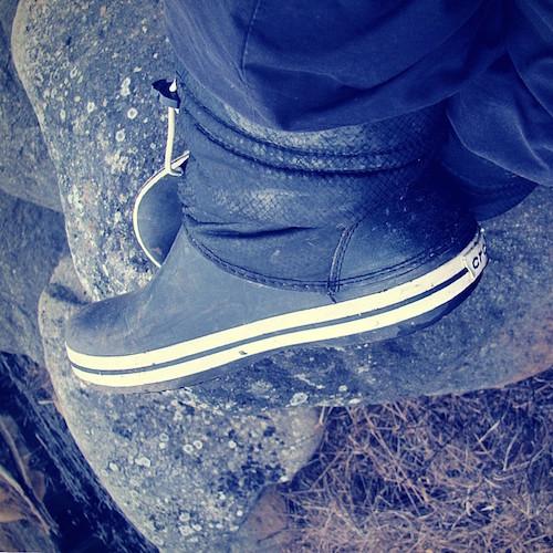 Meine Crocs Stiefel. Eine Liebeserklärung.