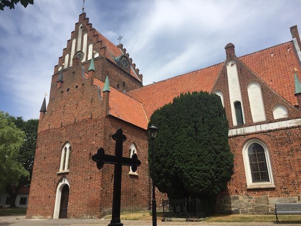 St. Nicolai kyrka i Sölvesborg, Sverige
