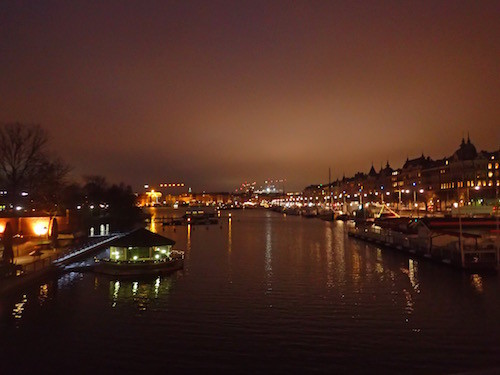 Stockholm nachts