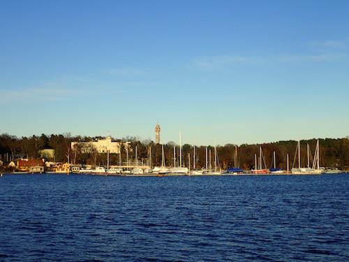 Yachthafen Stockholm