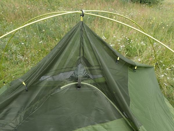 Marmot Tungsten Zelt: Gestänge und Aufhängung Innenzelt