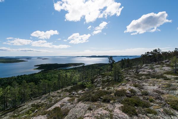Hohe Küste in Schweden, Skuleskogen Nationalpark
