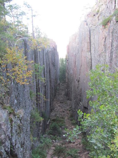 Slattdalskrevan, Skuleskogen Nationalpark in Schweden