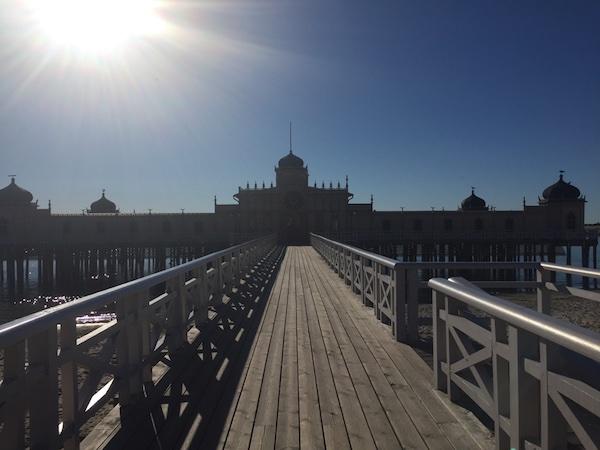 Kaltbadehaus in Varberg, Schweden