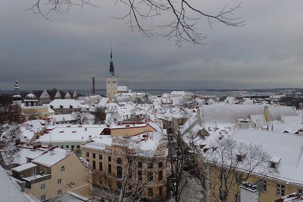 Ausblick auf Tallinn