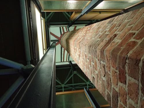 Stabwerkskonstruktion im Meeresmuseum im Katharinenkloster in Stralsund