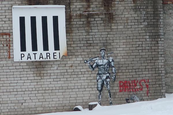 Banksy, Patarei, Tallinn