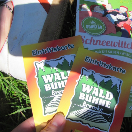 Kindheit und die sieben Zwerge - Gedanken zum Besuch der Waldbühne Bremke
